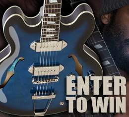 Enter to Win a Signed Gary Clark Jr. Blak and Blu Casino