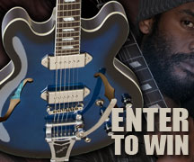 Enter to Win a Gary Clark Jr. Blak and Blu Casino