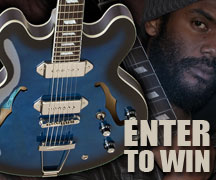 Enter to Win a Gary Clark Jr. Blak and Blu Casino