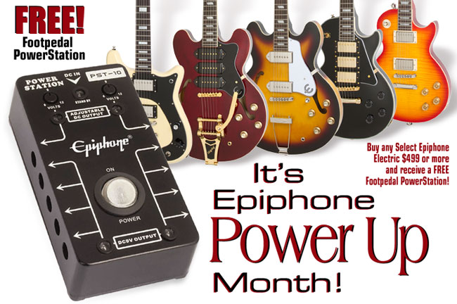 Epiphone Power Up Month