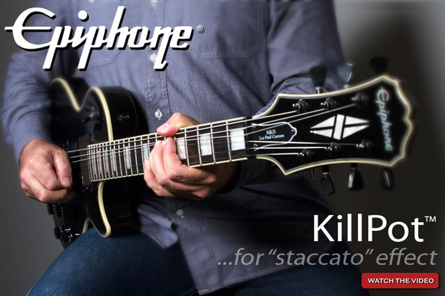The Epiphone KillPot