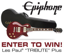 Enter to Win a Les Paul Tribute Plus