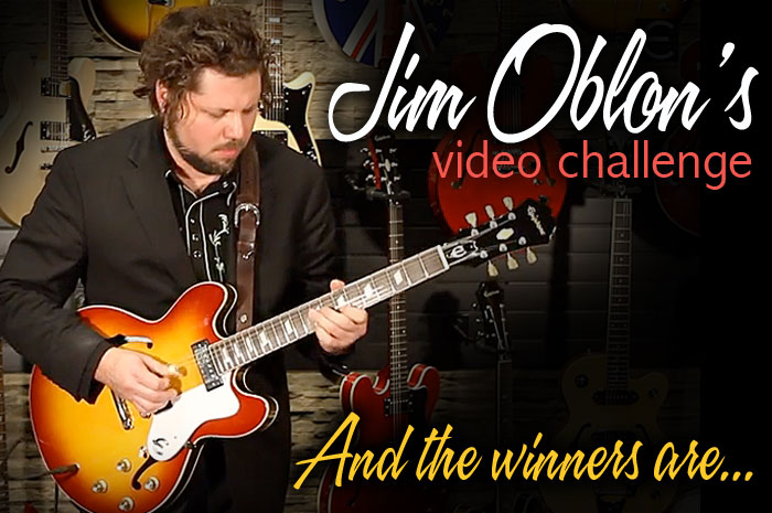 Jim Oblon Video Challenge Winners
