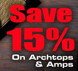 "Epiphone's ""Super Summer Jam"" Archtop Sale"