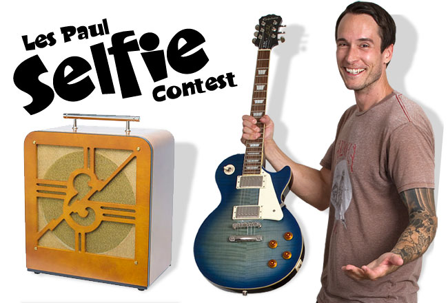 Les Paul Selfie Contest