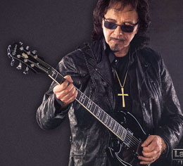 The Ltd. Ed. Tony Iommi Signature SG Custom