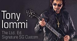 The Ltd. Ed. Tony Iommi Signature SG Custom