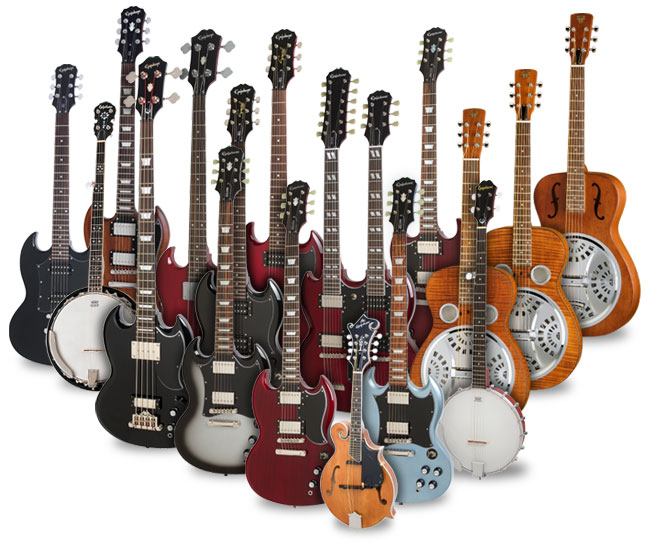 Epiphone's Grass Roots Rock Summer Sale