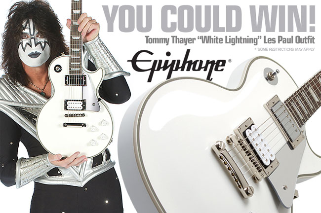 Enter to Win a Tommy Thayer White Lightning