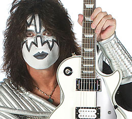 Enter to Win an Epiphone Tommy Thayer White Lightning Les Paul