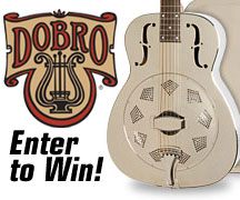 Enter to Win a Dobro® Hound Dog M-14 Metal Body