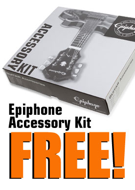 It's Electric Month! Get a Free Epiphone Accessory Kit