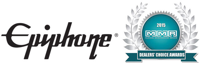 Help us Nominate Epiphone for the 2015 MMR Dealers' Choice Awards