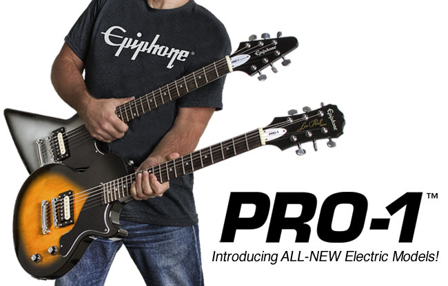 Epiphone PRO-1™ Performance Packs with Rocksmith