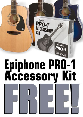 It's Acoustic Month! Get a FREE Acoustic Accessory Kit