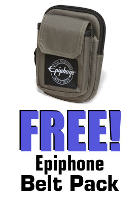 It's Epiphone Pack Month!