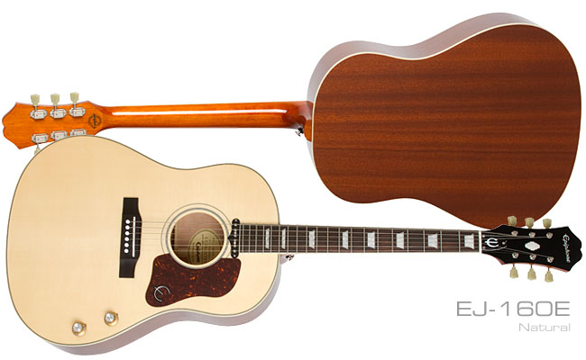 Epiphone Ltd. Ed. EL-00 PRO Mahogany and Ltd. Ed. EJ-160E