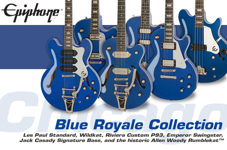 Ltd. Ed. Blue Royale Collection