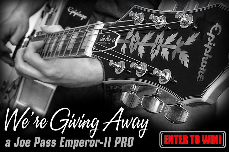 Enter to Win a Joe Pass Emperor-II PRO!