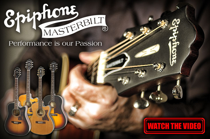 The Epiphone Masterbilt Series
