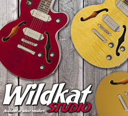 Epiphone Ltd. Ed. Wildkat Studio