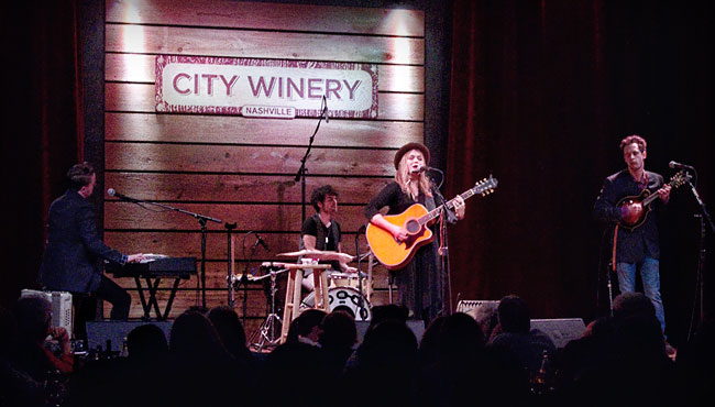 Crystal Bowersox Right At Home In Nashville