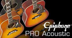 Epiphone PRO Acoustic Guitars