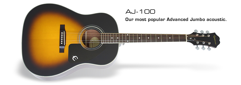 AJ-100: Our most popular Advanced Jumbo acoustic