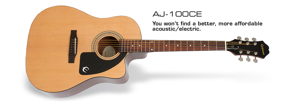 AJ-100CE: You won't find a better, more affordable acoustic/electric