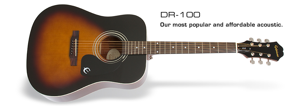 DR-100: Our most popular and affordable acoustic