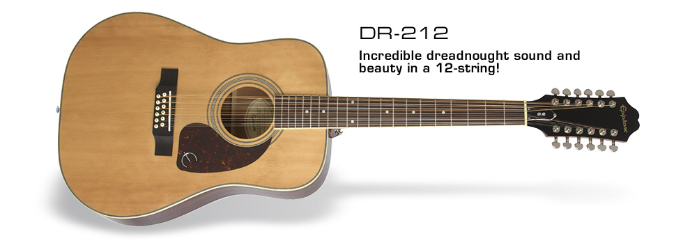 DR-212: Incredible dreadnought sound and beauty in a 12-string!