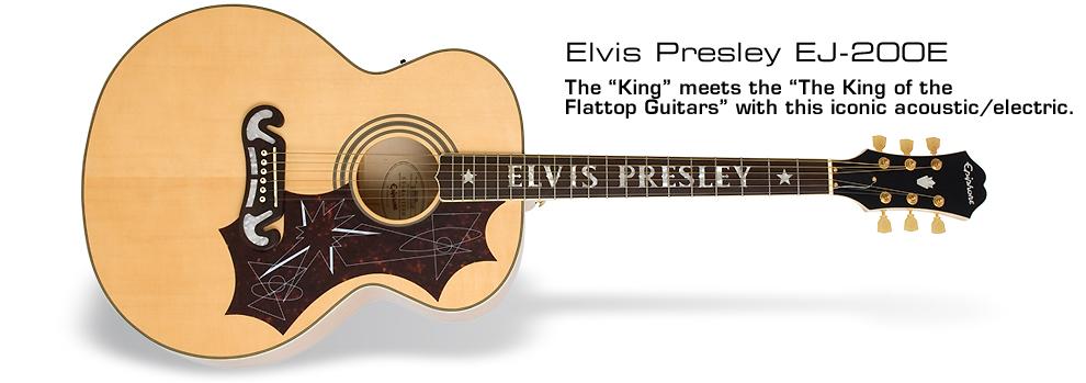 Elvis Presley EJ-200E: