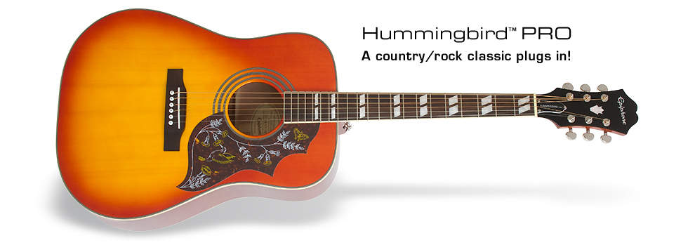 Hummingbird PRO: A country/rock classic plugs in!