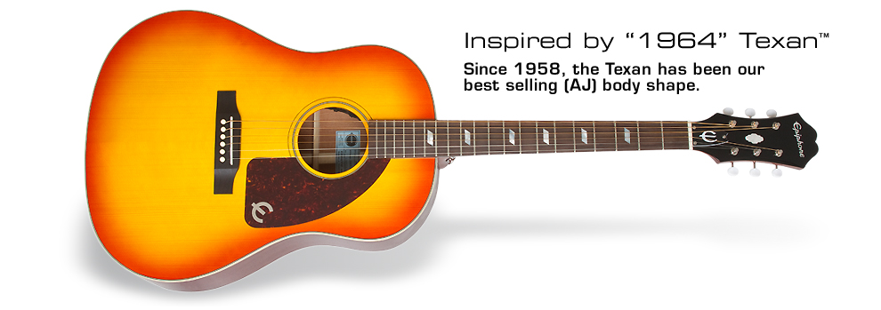 Inspired by 1964 Texan: Since 1958, the Texan has been our best selling AJ body shape