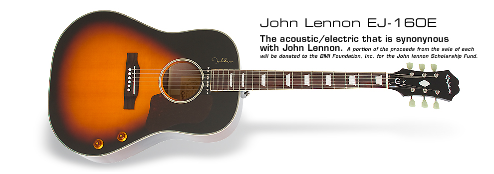 John Lennon EJ-160E: The acoustic/electric that is synonymous with John Lennon