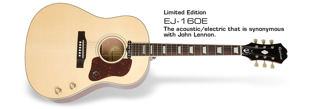 Ltd. Ed. EJ-160E Acoustic/Electric :