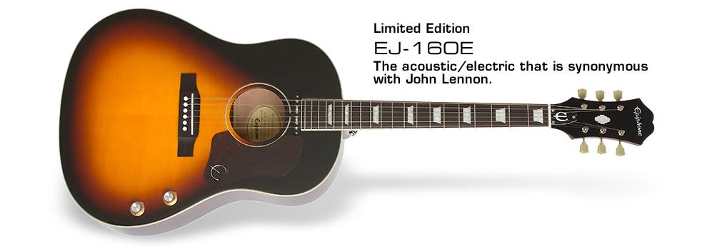 Ltd. Ed. EJ-160E Acoustic/Electric :