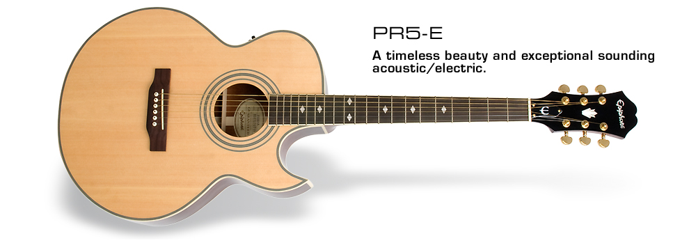 PR-5E: A timeless beauty and exceptional sounding acoustic/electric