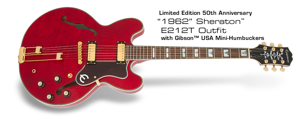 50th anniversary epiphone sheraton