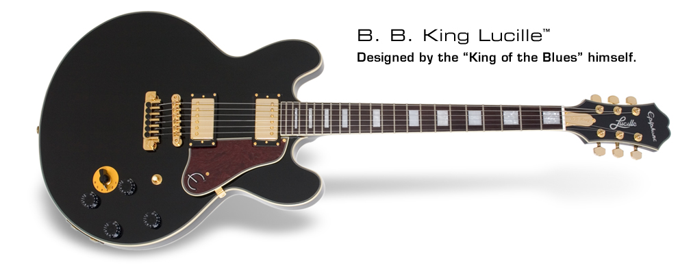 B. B. King Lucille: Designed by the King of the Blues himself