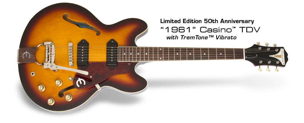 1961 50th Anniversary Casino TDV: with TemoTone Vibrato