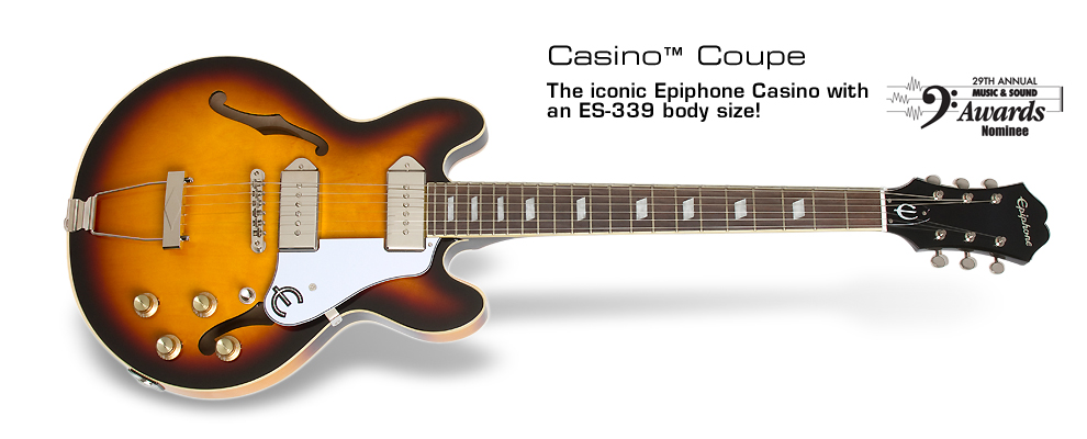 Casino Coupe: The classic Casino in a small ES-339 body size!