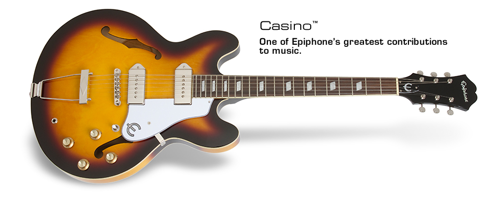 Casino: A legend since 1961. Now with new Dogear P-90T Classic™ pickups