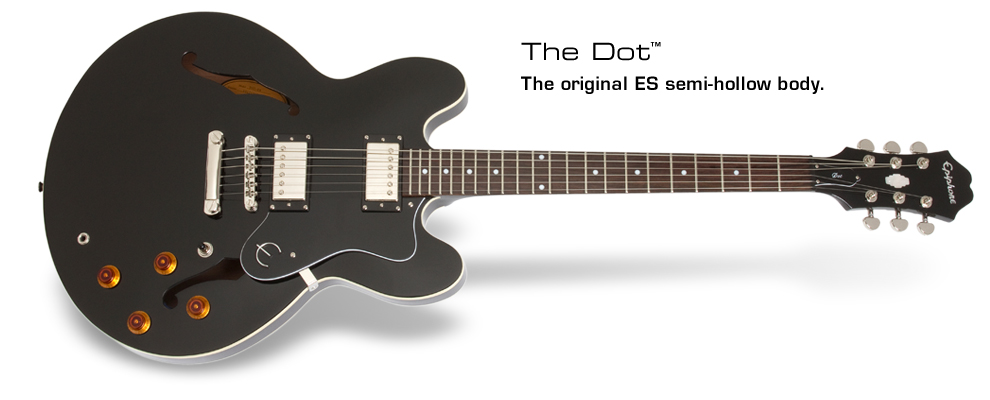 Dot: The original ES semi-hollow body
