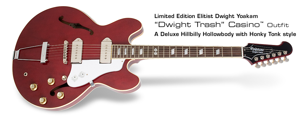 Dwight trash casino guitar