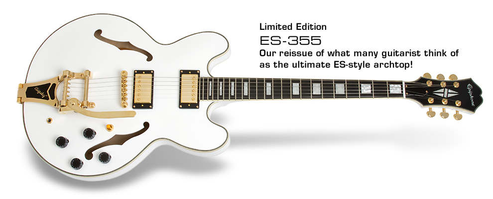 ES-355: Our reissue of what many guitarists think of as the ultimate ES-style archtop!