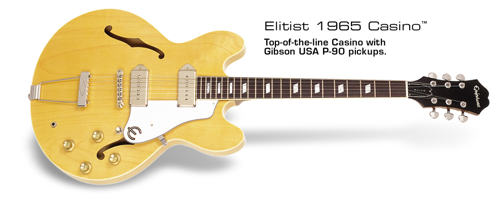 Elitist Casino: Top-of-the-line Casino with Gibson USA P-90 pickups