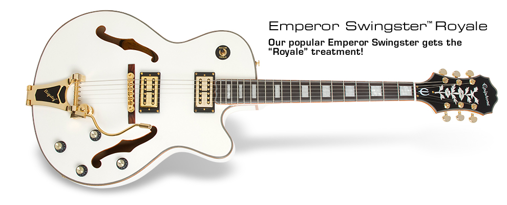 Emperor Swingster Royale: Our popular Emperor Swingster gets the Royale treatment!