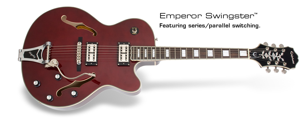 Emperor Swingster: Featuring series/parallel switching