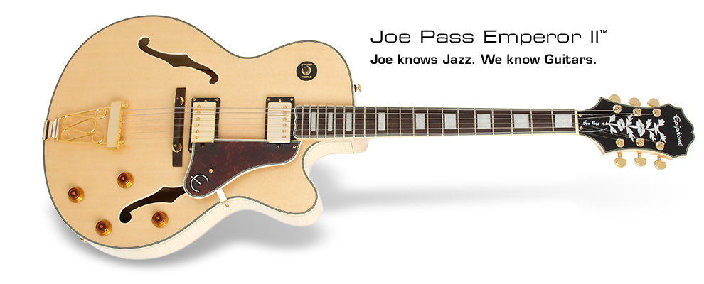 Joe Pass Emperor II: Jow knows Jazz. We know guitars